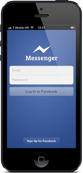 FB messenger login