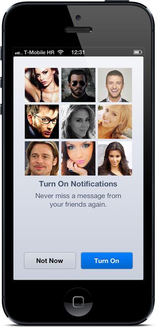 FB messenger notifications