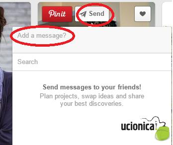 add a message