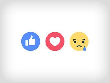 Facebook Reactions: recite to slikom
