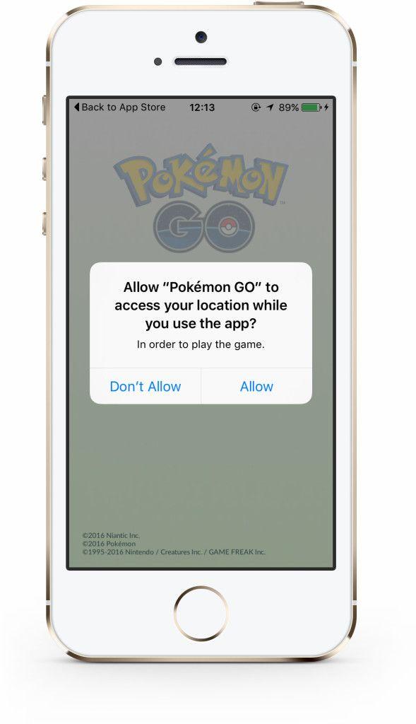 Pokémon GO lokacija
