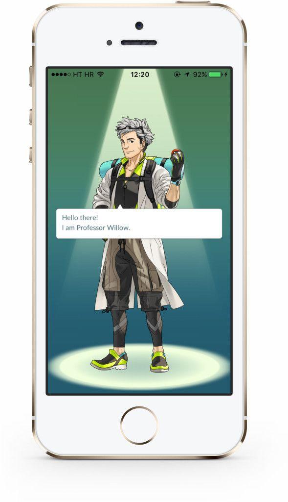Pokémon GO start