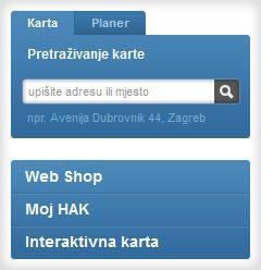 interaktivna karta