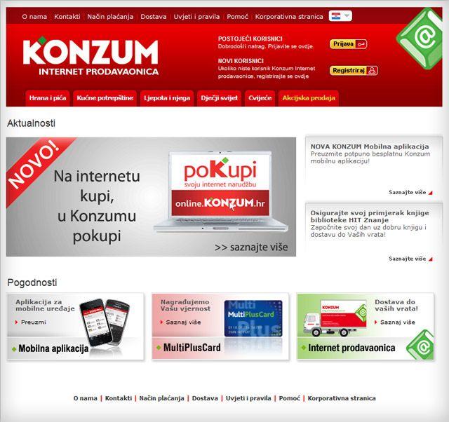 konzum online