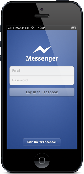 FB messenger login
