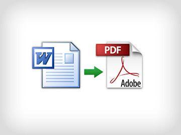 Kako konvertirati pdf u word?