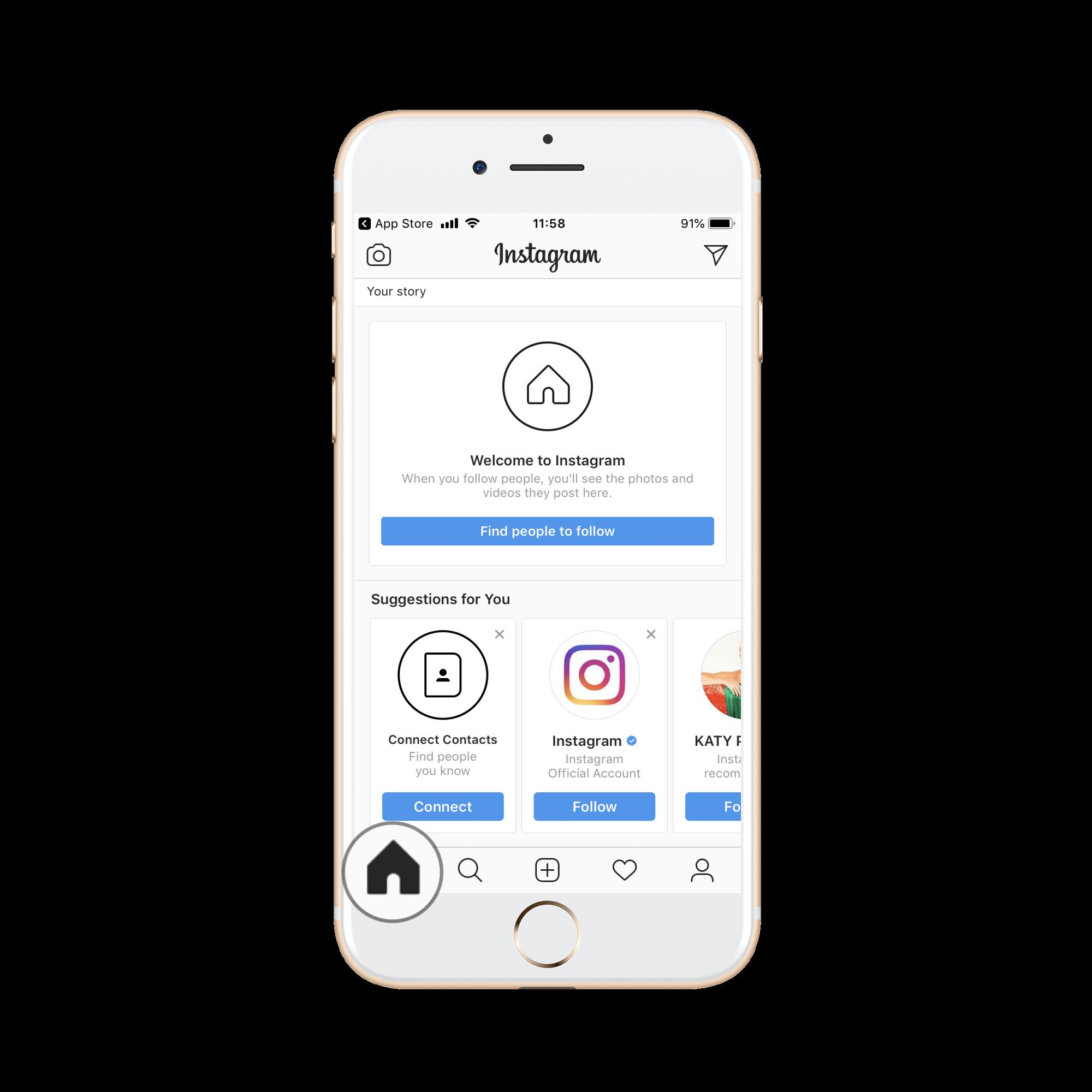 Dizajn stranica za pronalazak profila