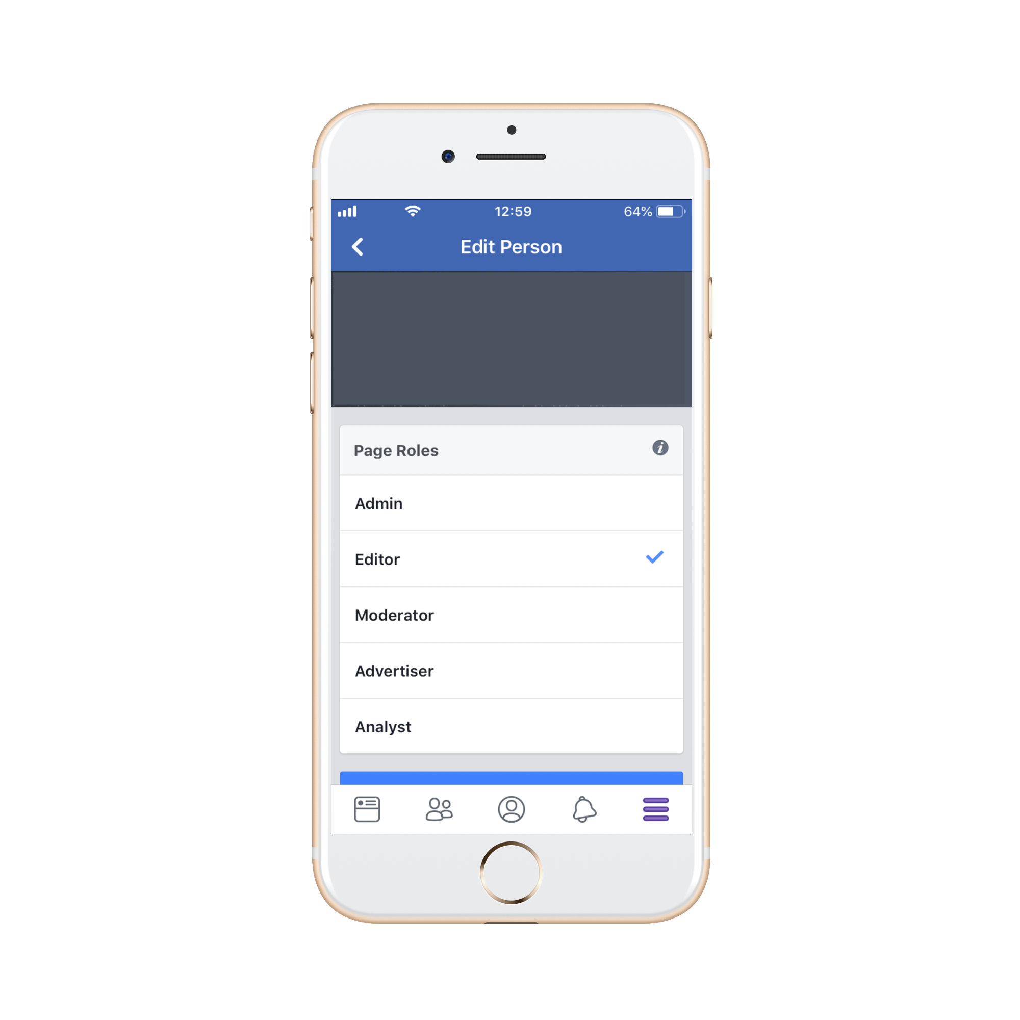 How to add or change Facebook page admin on mobile and ...