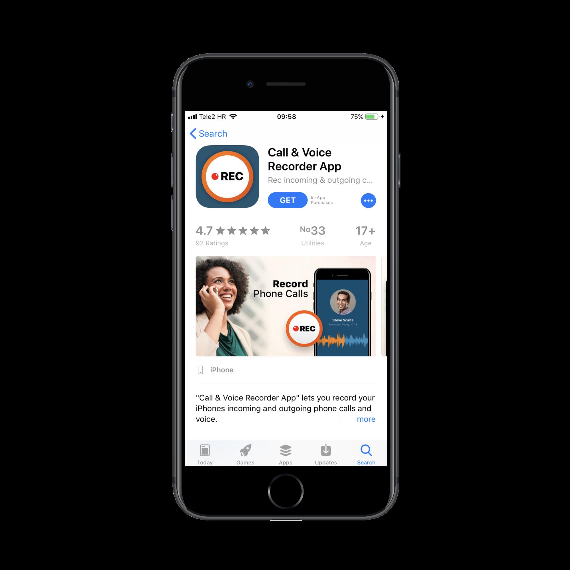 Besplatna aplikacija za pretragu iphone