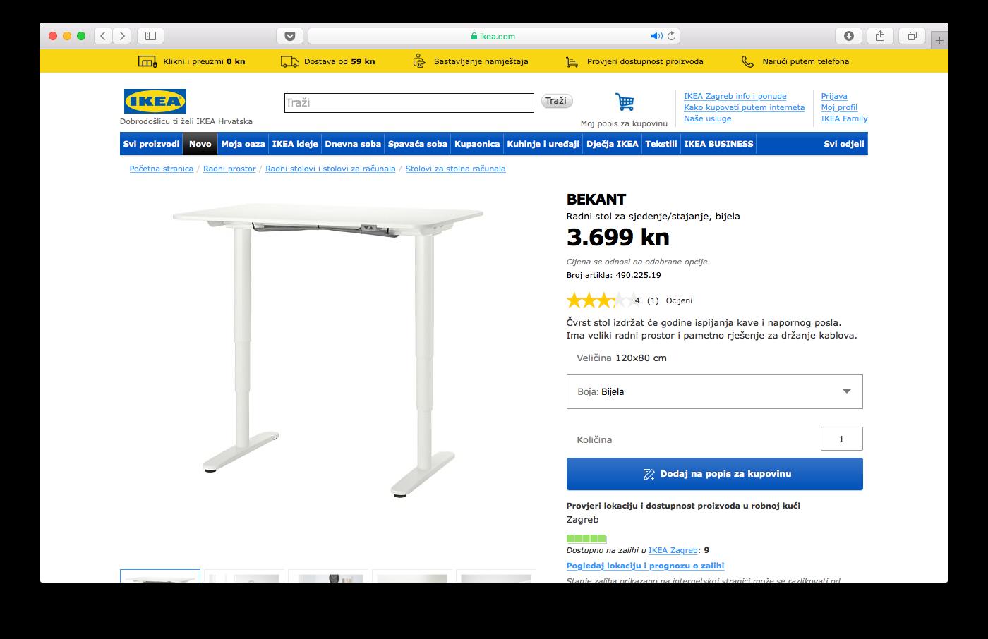 Kako Kupovati U Ikea Webshopu Vodic Od 6 Koraka Sa Slikama