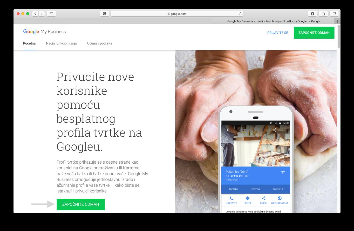 Koju web lokaciju za pronalaženje koriste nepodatci