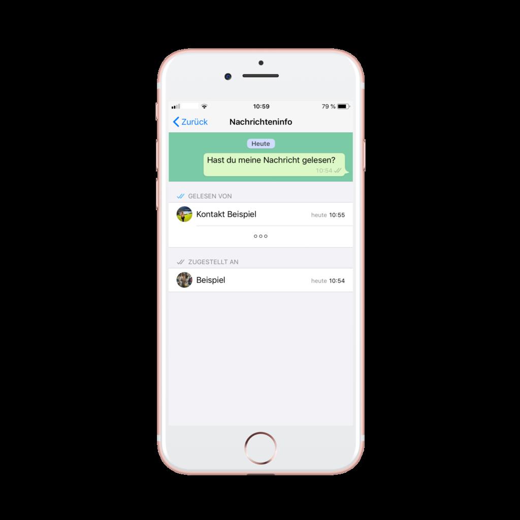 Whatsapp Nachricht Kommentieren