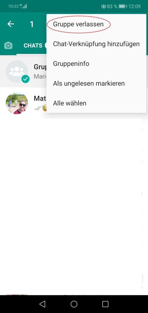 Whatsapp Gruppe Archivieren
